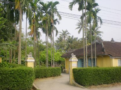 Nhà vườn ở Huế